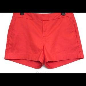 Banana Republic Hampton Fit Shorts in Coral Size 0